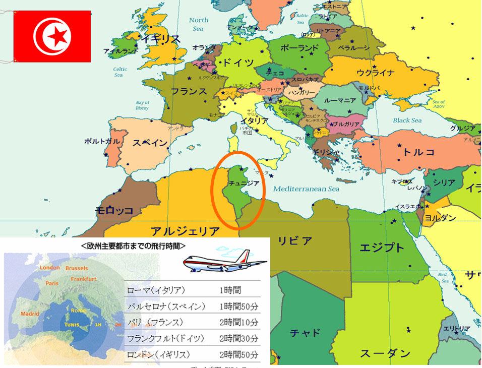 Tunisia (mainly on ODA)