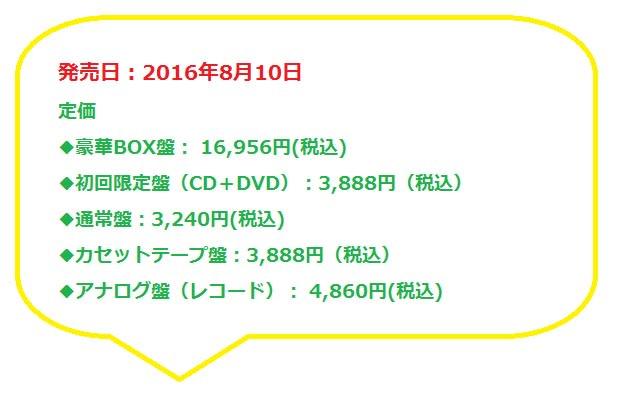 ユニコーンのアルバム「ゅ 13,14」の予約開始。最安値通販情報!豪華BOX盤と初回盤の特典や収録曲の違いについて。