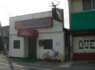 岩国市中津町2丁目14-6のクラブ「山茶子(サンディエゴ)」。茶をティーと読ませるということか(笑)