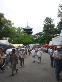 東寺の弘法さんに来ています。