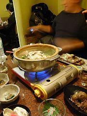 牡蠣の味噌土手鍋? (1)