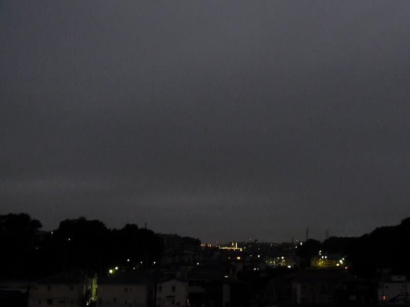 10月08日 夜明け前