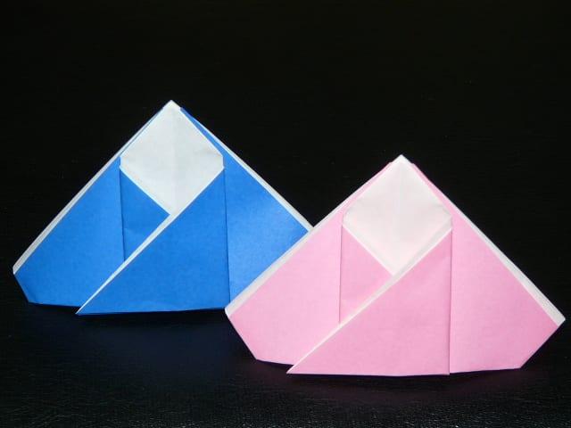簡単 折り紙:折り紙 お雛様の折り方-blog.goo.ne.jp