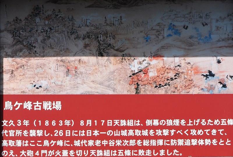 天誅組鳥ヶ峰古戦場絵図