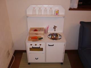 おままごとにお洒落なキッチンを☆手作りアイディア5選!