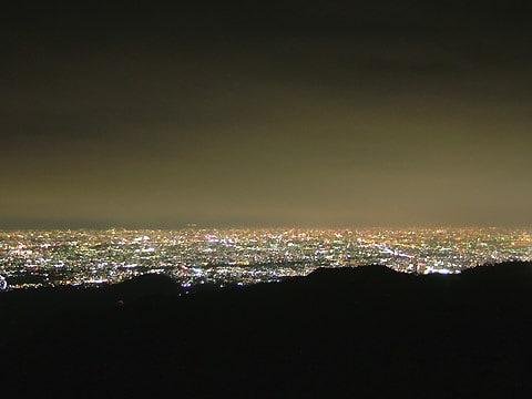 東六甲展望台の夜景