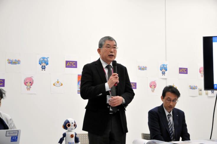 アジア太平洋トレードセンター株式会社 代表取締役 堀田則雄氏