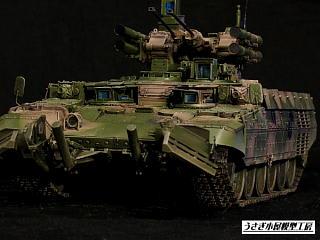 火力支援戦闘車ターミネーター 8 - うさぎ小屋模型工房 工房日誌 ブログ ログイン ランダム