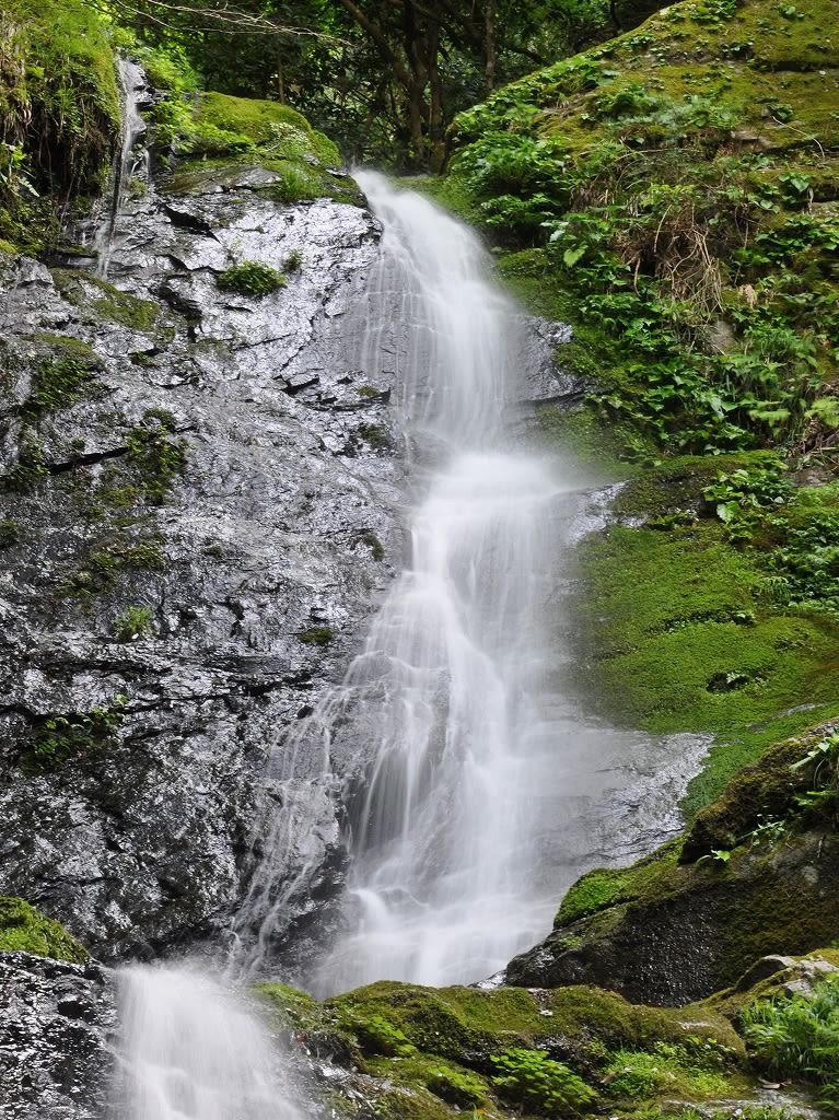 ヌスット谷大滝上段