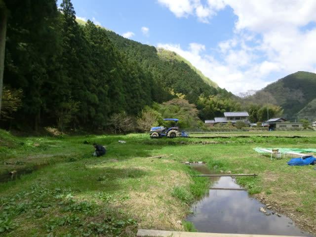 山際の小川