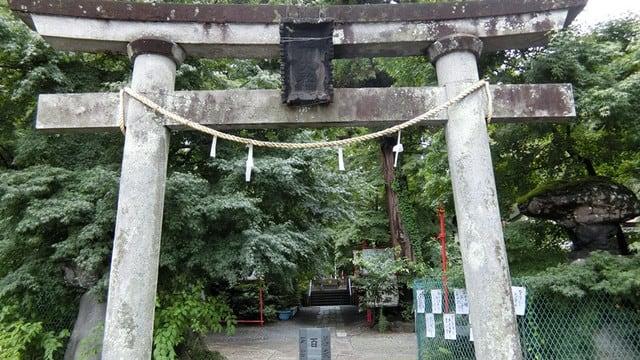 渋川八幡宮の鳥居