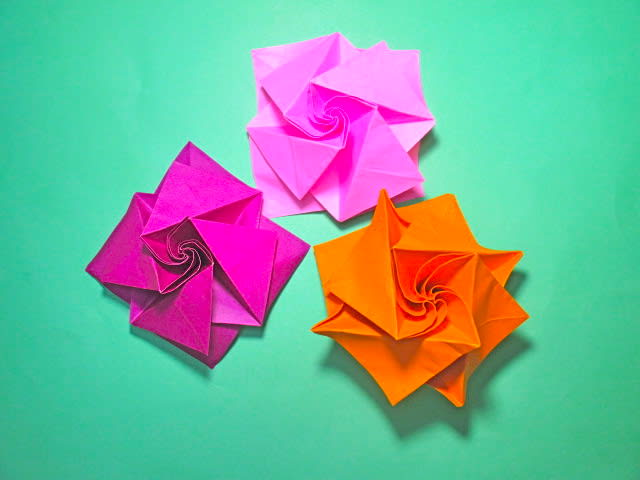 ハート 折り紙 折り紙 簡単 バラ : blog.goo.ne.jp