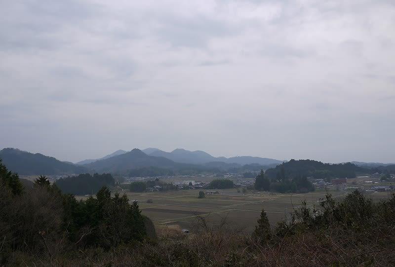 小倉口古墳付近からの眺望