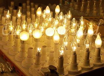 シャンデリアLED・調光・LED電球・4W・薄ホワイトフルカバー【シャンデリア・シャンデリアLED】
