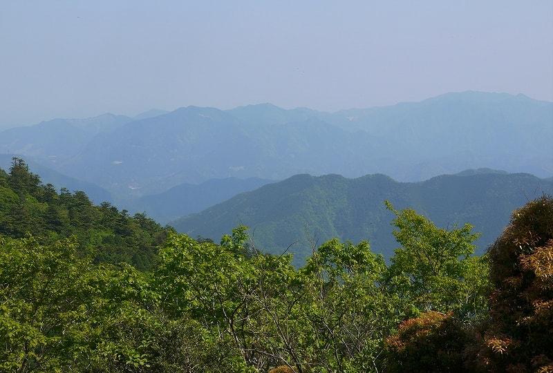 玉置山山頂からの眺望