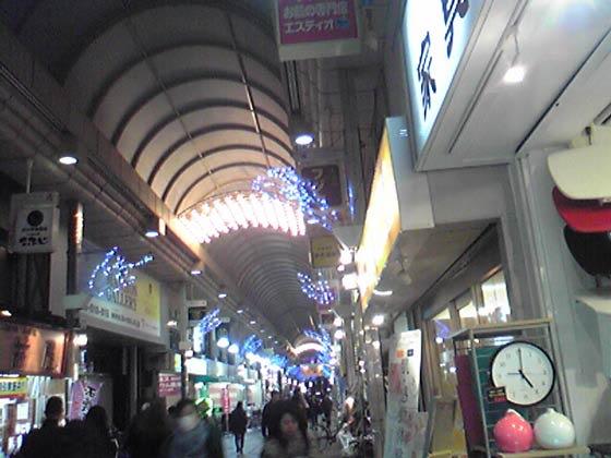 武蔵小山クリスマスイルミネーション