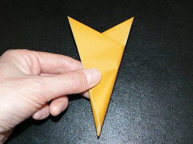 すべての折り紙 折り紙でしおりの作り方 : 折り紙 ~楊枝入れ~ - えつこ ...