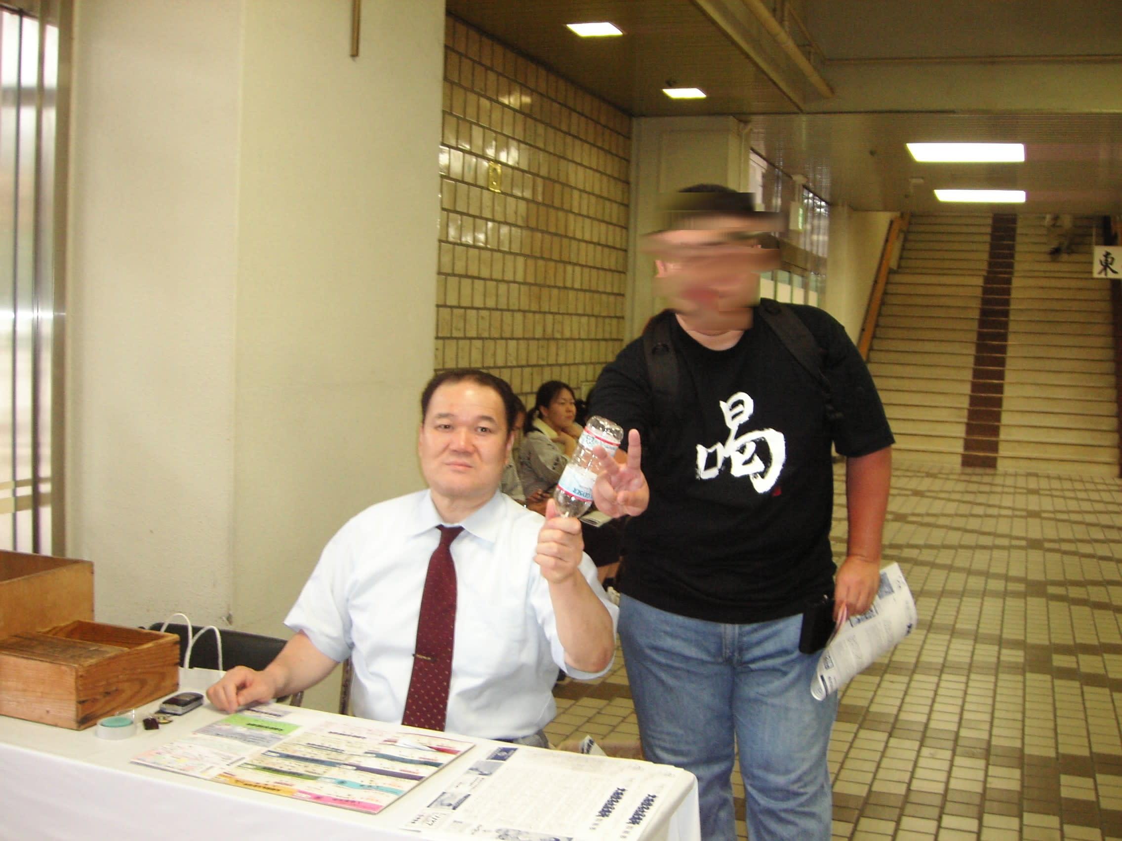 7月17日大相撲名古屋場所観戦 - シーソーバカの館