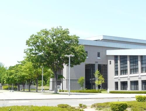 長野県松本文化会館の緑