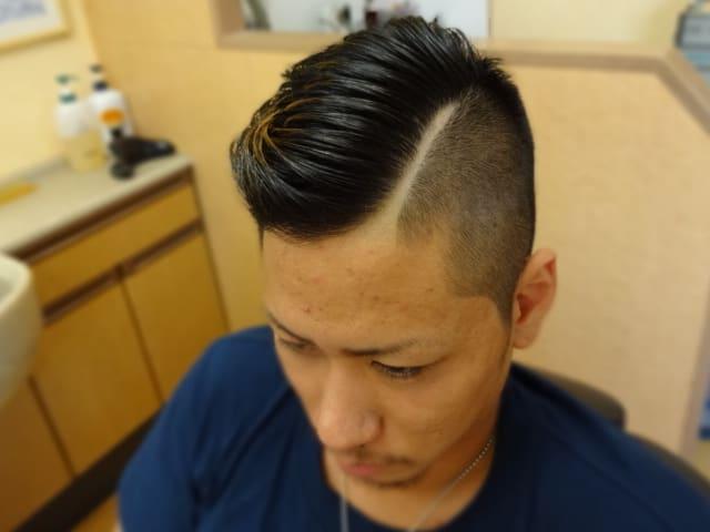 最新のヘアスタイル giカット髪型   カット|barber shintoko hair