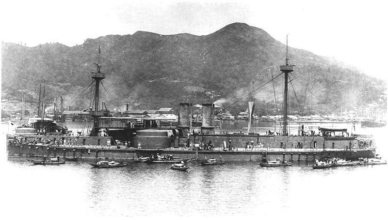 2009 11 20 幻の艦隊【わが郷】鎮遠、定遠の末は哀れにも、日本艦隊の鹵獲物