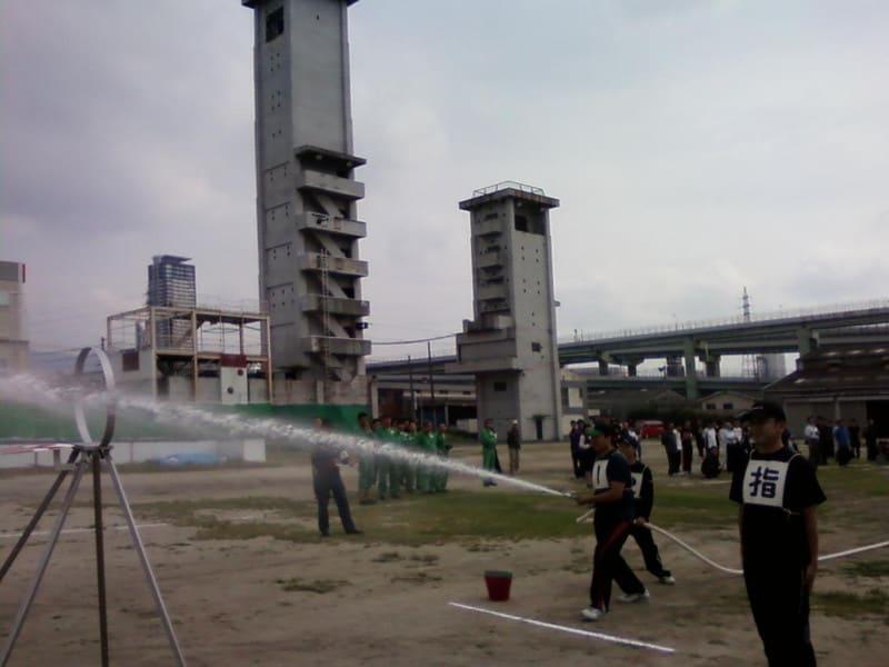 屋内消火栓操法訓練成果発表会
