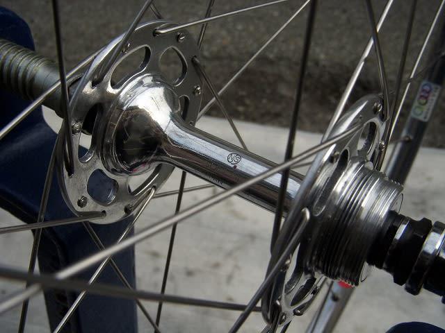 自転車の 自転車 ホイール 組み方 種類 : 今回組み直した イタリアンの 6 ...