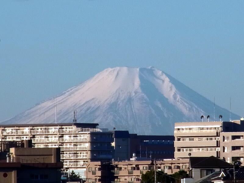 12月29日 富士山
