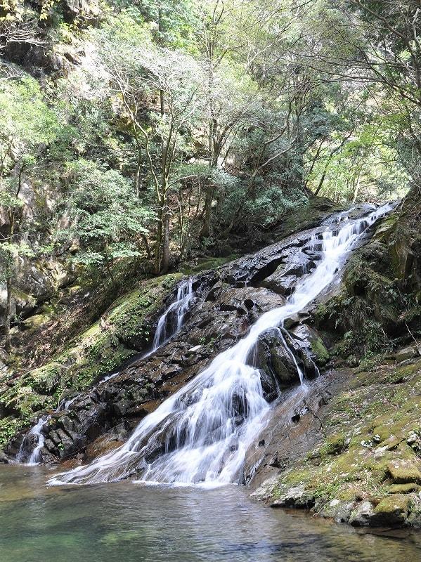 済浄坊下の滝
