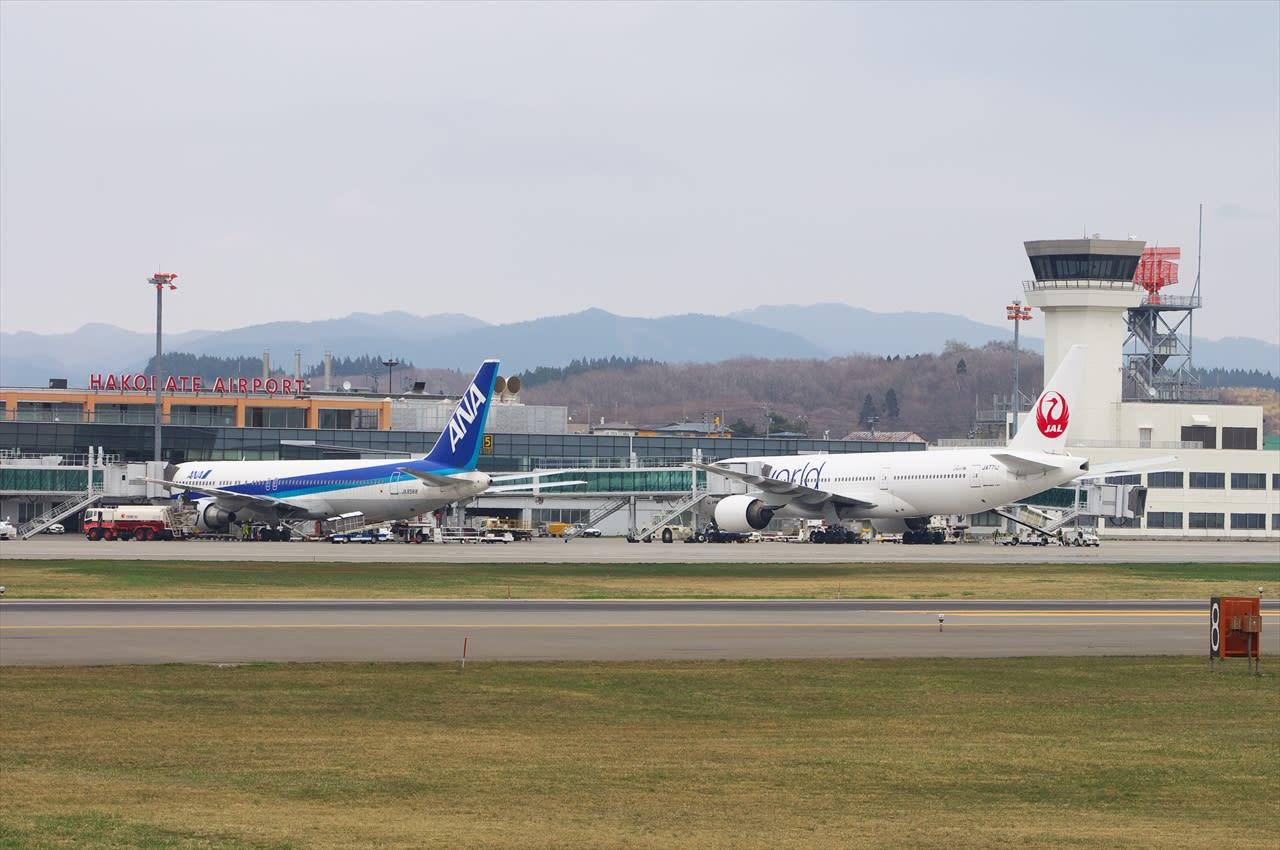 2014年05月01日:函館空港 - 飛...