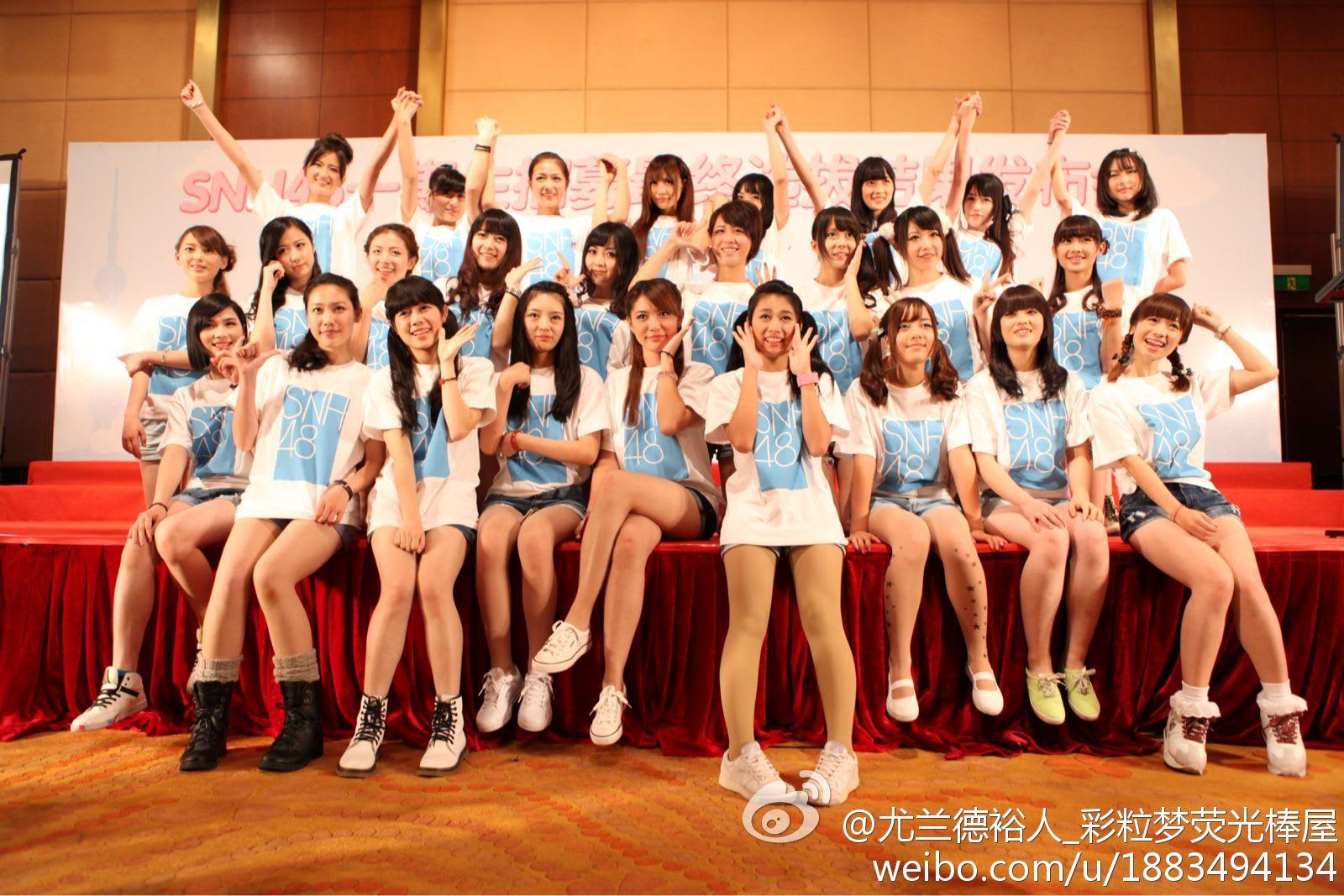 SNH48的国产萌妹子欣赏