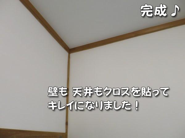 洗面脱衣室の壁紙