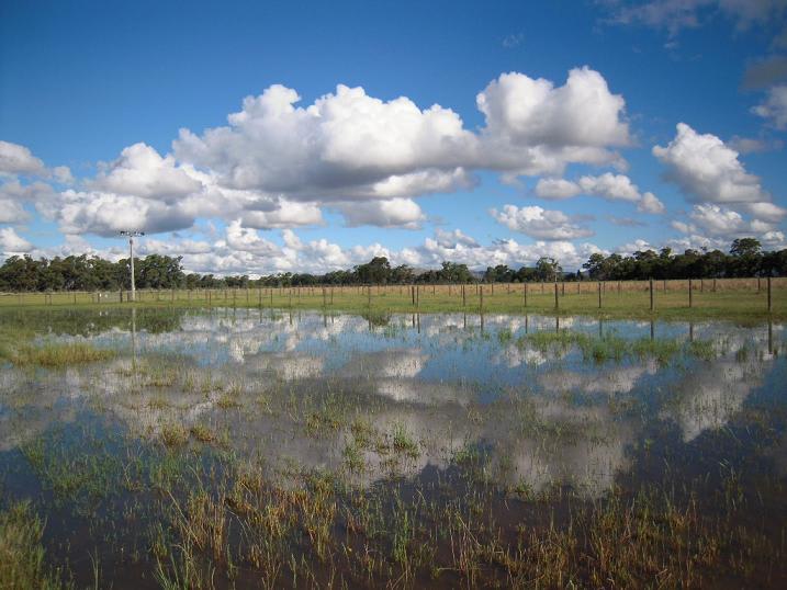 雨上がりの美しいオーストラリアの風景の写真