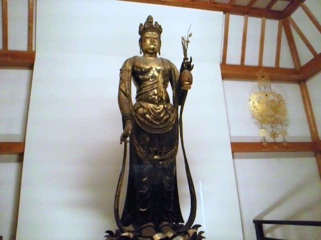 聖林寺十一面観音様 - 黒柴パルの部屋