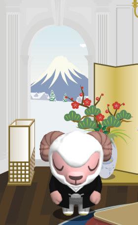 一夜にして富士山?が出現