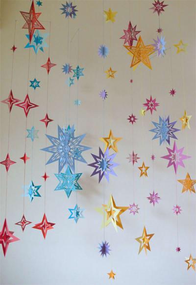 すべての折り紙 星 立体 折り紙 : 笹の葉さらさら。「手作りの ...