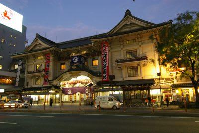 歌舞伎座解体前の写真