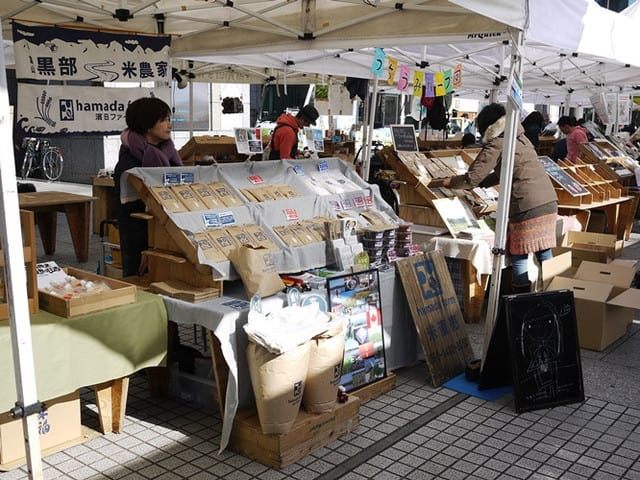 2月青山ファーマーズマーケット出店レポート