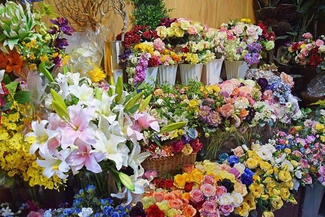 造花ココーフラワー横浜 実店舗 ショールーム
