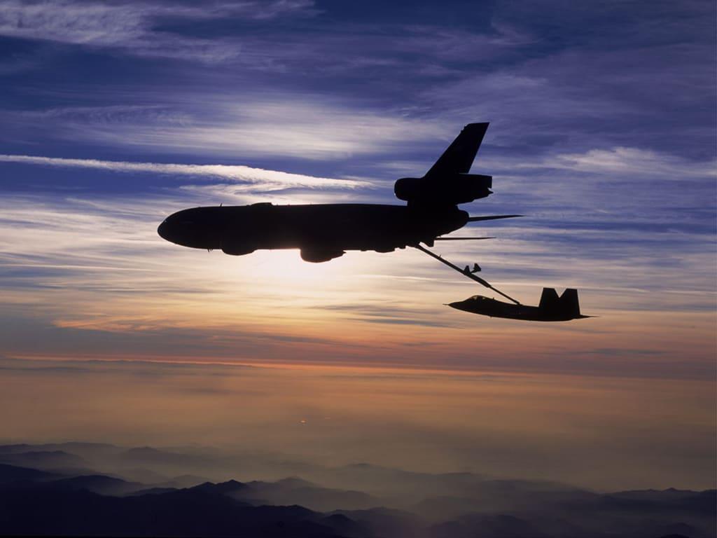 アメリカの飛行機