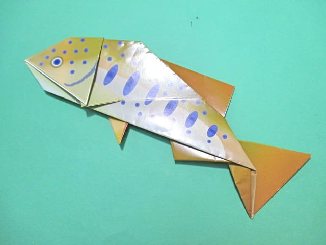 ハート 折り紙 魚 折り紙 折り方 : blog.goo.ne.jp