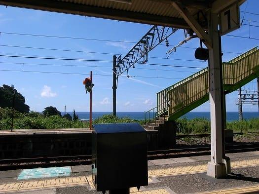 905和深駅にて - カイくんと、日...