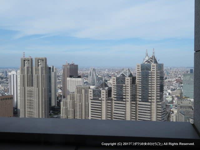 53階から見る風景が素敵なカフェでシードルとパスタランチを♪@