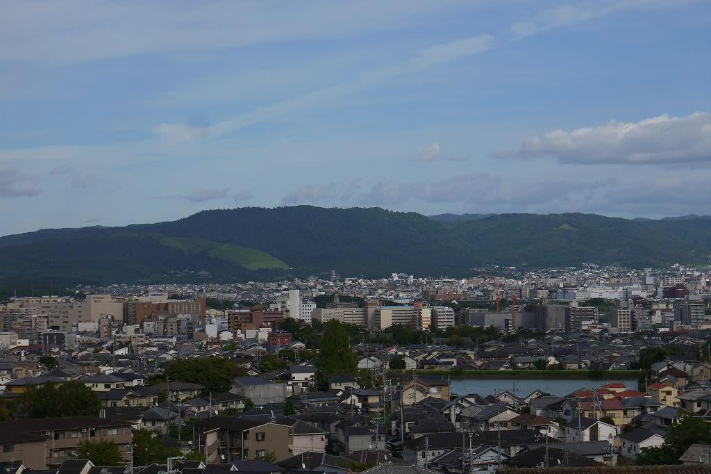 鷹塚山からの眺望