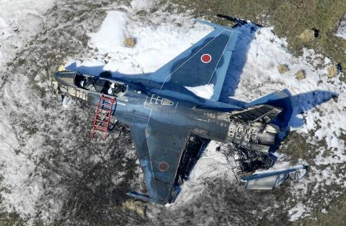 2007年10月31日の朝、自衛隊の主力戦闘攻撃... 機体定期修理 (IRAN) のチェックで
