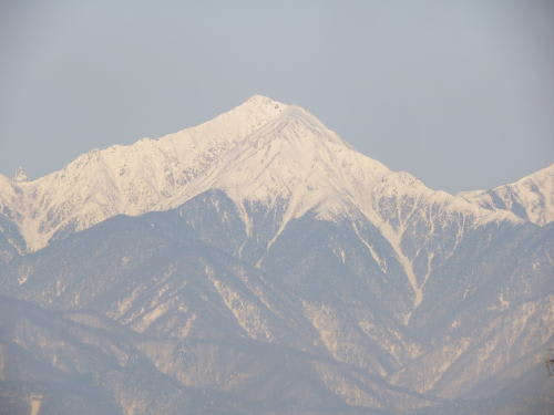 常念岳 2013/1/21