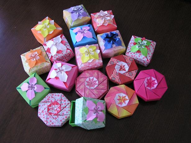 折り紙の 折り紙の箱の作り方 : - 園芸歳時記 akanegusa : 折り紙 ...