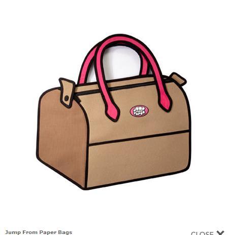 b7c0b0174f96 おそらく、現在日本でこのバッグを持っている人は数少ないはずです。トリックアートみたいに持ち歩けば、みんなが振り返ること間違いなし。この秋は「Jump  From Paper ...