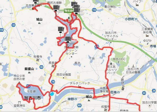 自転車道 加古川 自転車道 : 加古川右岸自転車道・権現湖 ...