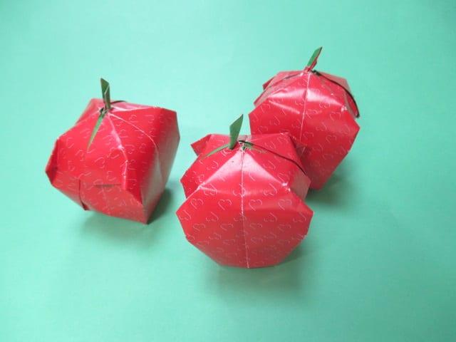 バラ 折り紙 折り紙 りんご : blog.goo.ne.jp